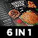 Burger Menu Set - GraphicRiver Item for Sale