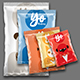5 Snack Bags Mock-up - GraphicRiver Item for Sale