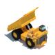 Dumper Truck Lowpoly - 3DOcean Item for Sale