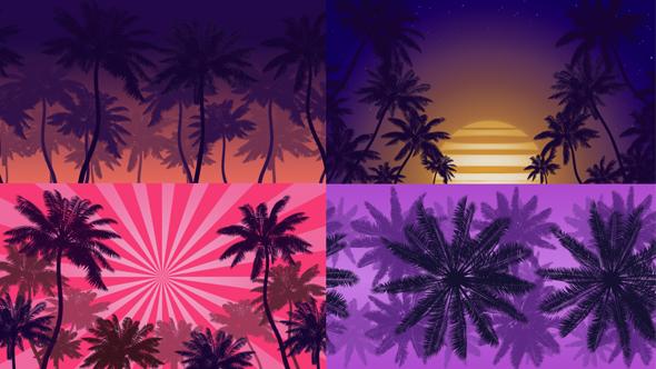Summer Beach Backgrounds