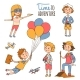 Little Travelers Around the World - GraphicRiver Item for Sale