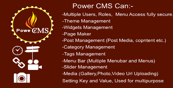 Power CMS (Content Management System) Open Source Mvc 5