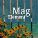 MagElement - Fresh & Modern Magazine HTML Template - ThemeForest Item for Sale