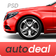 AutoDeal - Car Retail PSD template - ThemeForest Item for Sale