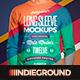 Men Long Sleeve T-Shirt Mockups - GraphicRiver Item for Sale