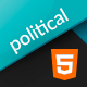 Political Candidate Html Landing Page - ThemeForest Item for Sale