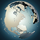 earth continents globe 3D Model - 3DOcean Item for Sale