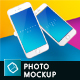 iPhone Mock-up Brending Templates with Vivid and Clean Backgrounds - GraphicRiver Item for Sale
