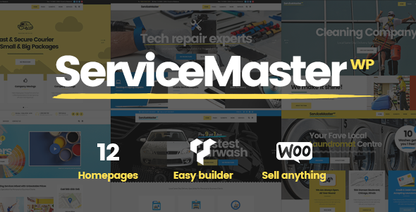 Service Master - Multi-Concept Theme for Service Businesses