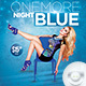 Flyer One More Night Full Blue - GraphicRiver Item for Sale