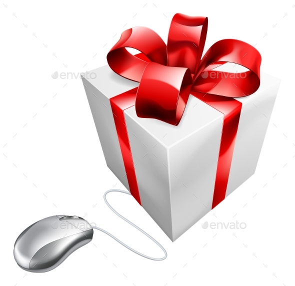 Present Mouse Internet Gift Shopping