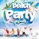 Flyer Beach Party Splash - GraphicRiver Item for Sale