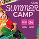Kids Summer camp Flyer V3 - GraphicRiver Item for Sale