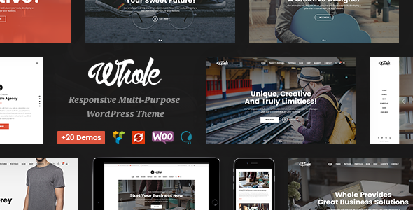 Whole - Creative Multi-Purpose WordPress Theme