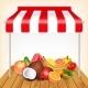 Fruits Market Concept - GraphicRiver Item for Sale