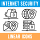 Internet Security Icons Set - GraphicRiver Item for Sale