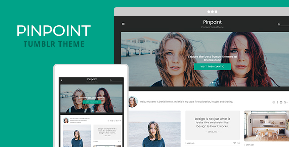 Pinpoint Tumblr Theme