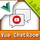 Modern Chat Rooms - Vue.js multimedia web chat application - CodeCanyon Item for Sale