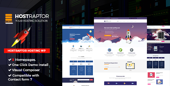 Host Raptor - Hosting Domain WordPress