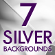 7 Silver Abstract Backgrounds - VideoHive Item for Sale