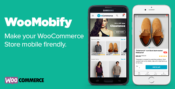 WooMobify - WooCommerce Mobile Theme Download
