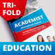 Academic Education A4 Tri fold Brochure - GraphicRiver Item for Sale