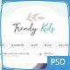 Trendy Kids Photoshop - ThemeForest Item for Sale