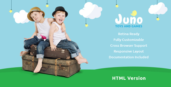 Juno | Kids Toys & Games Store Template