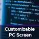 Customizable Computer Screen Codes - VideoHive Item for Sale