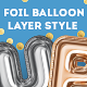 Foil Balloon Layer Style Effect - GraphicRiver Item for Sale