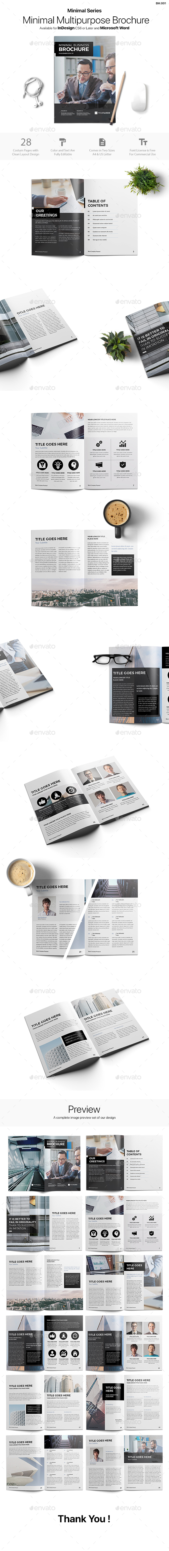 preview - Minimal Brochure Download