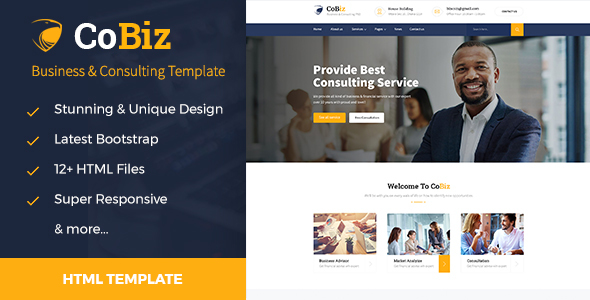 Cobiz - Consulting & Business HTML Template
