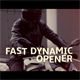 Fast Dynamic Opener - VideoHive Item for Sale