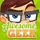 Geek Mascot - GraphicRiver Item for Sale