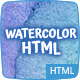 9 Watercolor HTML Multipurpose Templates - ThemeForest Item for Sale