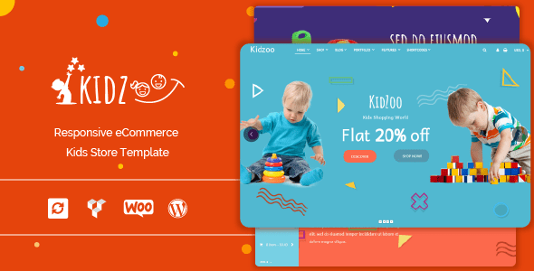 Kidzoo - Kids and Baby Store WordPress eCommerce Theme
