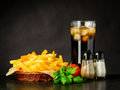 French Fries with Cold Ice Cola - PhotoDune Item for Sale