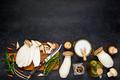 Edible Mushrooms Sliced for Cooking - PhotoDune Item for Sale