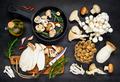 Cooking Edible Mushrooms Food - PhotoDune Item for Sale