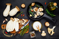 Cooking Eryngii Edible Mushrooms - PhotoDune Item for Sale