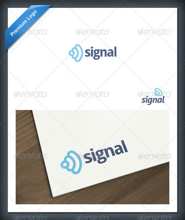 Signal Logo Template