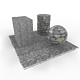 Cobble stones Pavement - 3DOcean Item for Sale