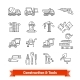Building Site Engineering and Tools Set - GraphicRiver Item for Sale