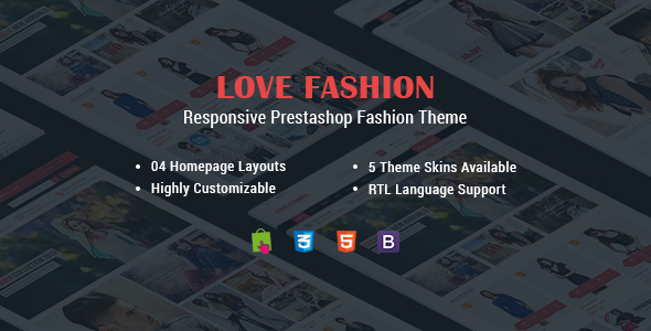 Love Fashion - Multipurpose Responsive PrestaShop Theme