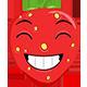 Strawberry Emoticons - GraphicRiver Item for Sale