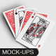 Playing Poker Card Mockups - GraphicRiver Item for Sale