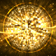 Abstract Gold VJ Sphere Glitter Background - VideoHive Item for Sale