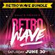 Retro Wave Bundle - GraphicRiver Item for Sale