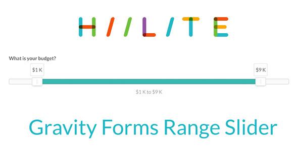 Gravity Forms Range Slider