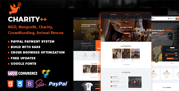 Charityplus - Charity NonProfit WordPress